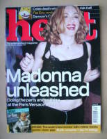 <!--1999-07-29-->Heat magazine - Madonna cover (29 July-4 August 1999 - Issue 26)
