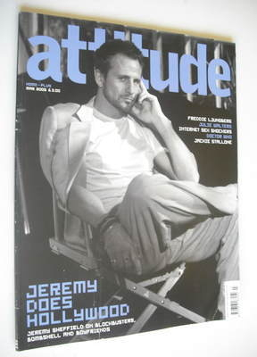 <!--2005-03-->Attitude magazine - Jeremy Sheffield cover (March 2005)