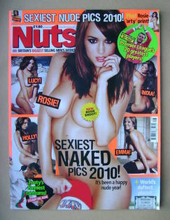 <!--2010-12-03-->Nuts magazine - Rosie Jones cover (3-9 December 2010)
