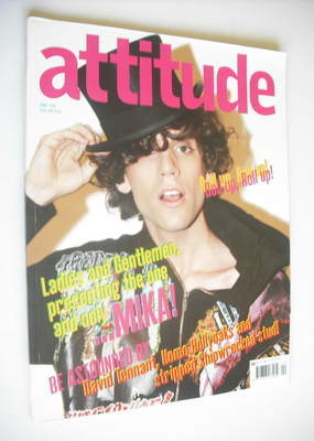 <!--2007-04-->Attitude magazine - Mika cover (April 2007)