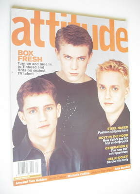 <!--1999-03-->Attitude magazine - TV Talent cover (March 1999 - Issue 59)