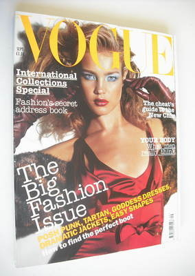 <!--2003-09-->British Vogue magazine - September 2003 - Natalia Vodianova c