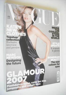 <!--2007-04-->British Vogue magazine - April 2007 - Kate Moss cover