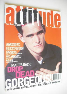 <!--1995-10-->Attitude magazine - Matt Dillon cover (October 1995)
