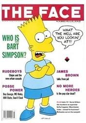 <!--1991-03-->The Face magazine - Bart Simpson cover (March 1991 - Volume 2
