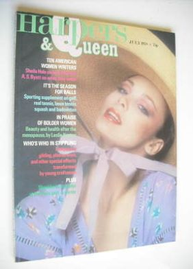 <!--1978-07-->British Harpers & Queen magazine - July 1978
