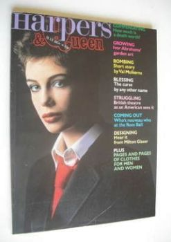 British Harpers & Queen magazine - May 1978 - Kelly Le Brock cover