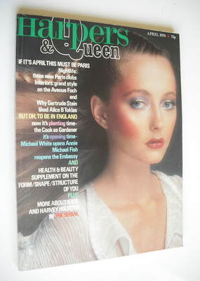<!--1978-04-->British Harpers & Queen magazine - April 1978