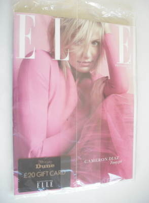 <!--2012-12-->British Elle magazine - December 2012 - Cameron Diaz cover (S