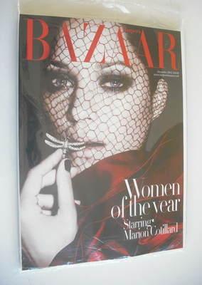<!--2012-12-->Harper's Bazaar magazine - December 2012 - Marion Cotillard c