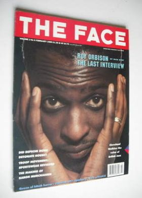 <!--1989-02-->The Face magazine - Cleveland Watkiss cover (February 1989 -