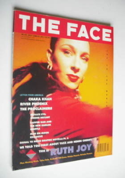 The Face magazine - Ruth Joy cover (July 1989 - Volume 2 No. 10)