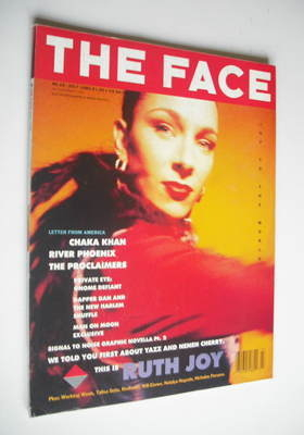 <!--1989-07-->The Face magazine - Ruth Joy cover (July 1989 - Volume 2 No.