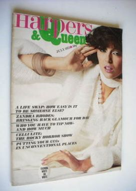 <!--1975-07-->British Harpers & Queen magazine - July 1975
