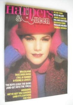 British Harpers & Queen magazine - February 1979
