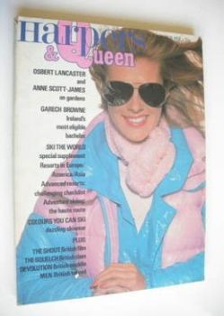 British Harpers & Queen magazine - November 1977