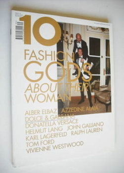 Ten magazine - Summer/Autumn 2010 - Dolce and Gabbana cover