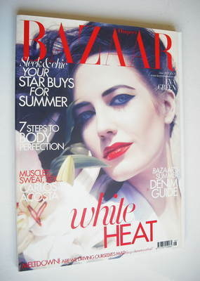 <!--2011-06-->Harper's Bazaar magazine - June 2011 - Eva Green cover
