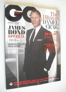 British GQ magazine - November 2012 - Daniel Craig cover