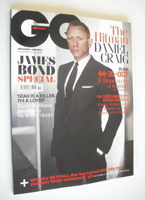 <!--2012-11-->British GQ magazine - November 2012 - Daniel Craig cover