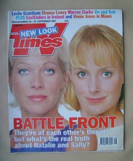 <!--1997-09-20-->TV Times magazine - Denise Welch and Sally Whittaker cover