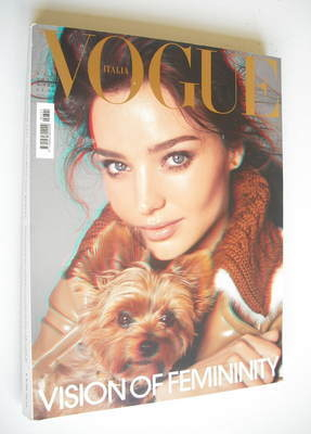 <!--2010-09-->Vogue Italia magazine - September 2010 - Miranda Kerr cover