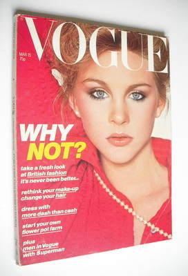 <!--1978-03-15-->British Vogue magazine - 15 March 1978 (Vintage Issue)