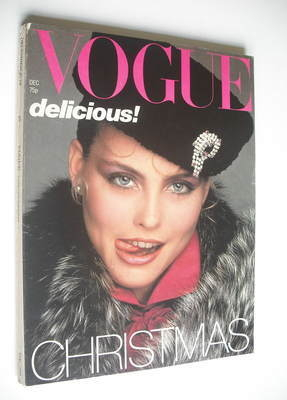 <!--1978-12-->British Vogue magazine - December 1978 - Kim Alexis cover