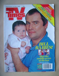 <!--1990-06-02-->TV Times magazine - Christopher Ellison cover (2-8 June 19
