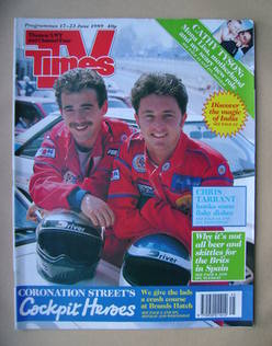 <!--1989-06-17-->TV Times magazine - Michael Le Vell and Stuart Wolfenden c