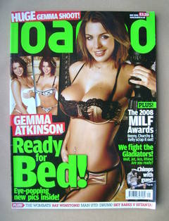 <!--2008-05-->Loaded magazine - Gemma Atkinson cover (May 2008)
