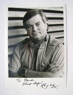 Roger Cook autograph