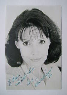 Diane Keen autograph (hand-signed photograph, dedicated)