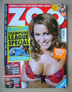 <!--2011-02-18-->Zoo magazine - Chanelle Hayes cover (18-24 February 2011)