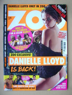 <!--2010-11-12-->Zoo magazine - Danielle Lloyd cover (12-18 November 2010)
