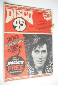Disco 45 magazine - No 23 - September 1972 - Bryan Ferry cover