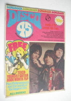 Disco 45 magazine - No 45 - July 1974
