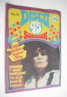 <!--1975-08-->Disco 45 magazine - No 58 - August 1975 - Marc Bolan cover