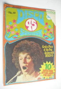 Disco 45 magazine - No 59 - September 1975 - Leo Sayer cover