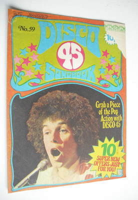 <!--1975-09-->Disco 45 magazine - No 59 - September 1975 - Leo Sayer cover