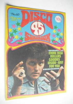 Disco 45 magazine - No 60 - October 1975 - Alvin Stardust cover