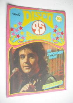 Disco 45 magazine - No 62 - December 1975 - David Essex cover