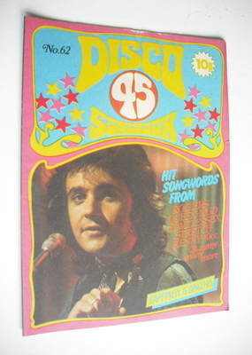<!--1975-12-->Disco 45 magazine - No 62 - December 1975 - David Essex cover