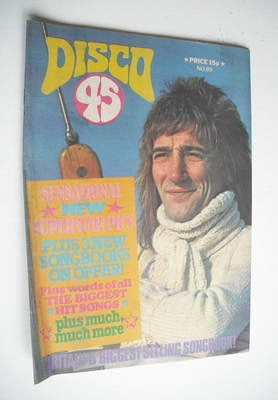 <!--1978-03-->Disco 45 magazine - No 89 - March 1978 - Rod Stewart cover