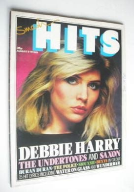 <!--1981-08-06-->Smash Hits magazine - Debbie Harry cover (6-19 August 1981