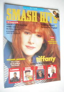 <!--1988-05-04-->Smash Hits magazine - Tiffany cover (4-17 May 1988)