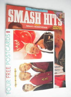 <!--1988-12-14-->Smash Hits magazine - Bros cover (14-27 December 1988)