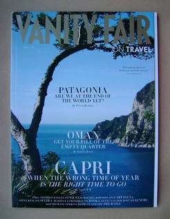 Vanity Fair On Travel magazine supplement (April 2012)