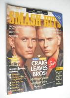 <!--1989-05-17-->Smash Hits magazine - Bros cover (17-30 May 1989)