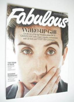 Fabulous magazine - Nick Grimshaw cover (23 September 2012)